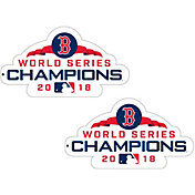Authentic Street Signs 2018 World Series Champions Boston Red Sox 2-Pack Super Magnet