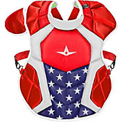 All-Star Adult NOCSAE Commotio Cordis 16.5'' S7 AXIS USA Chest Protector