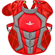 All-Star Intermediate NOCSAE Commotio Cordis 15.5'' S7 AXIS Chest Protector