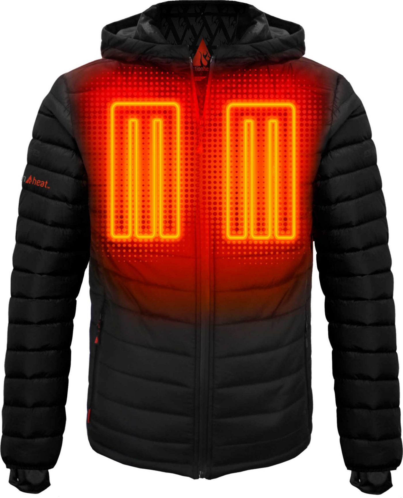 ActionHeat Men's 5V Battery Heated Insulated Puffer Jacket