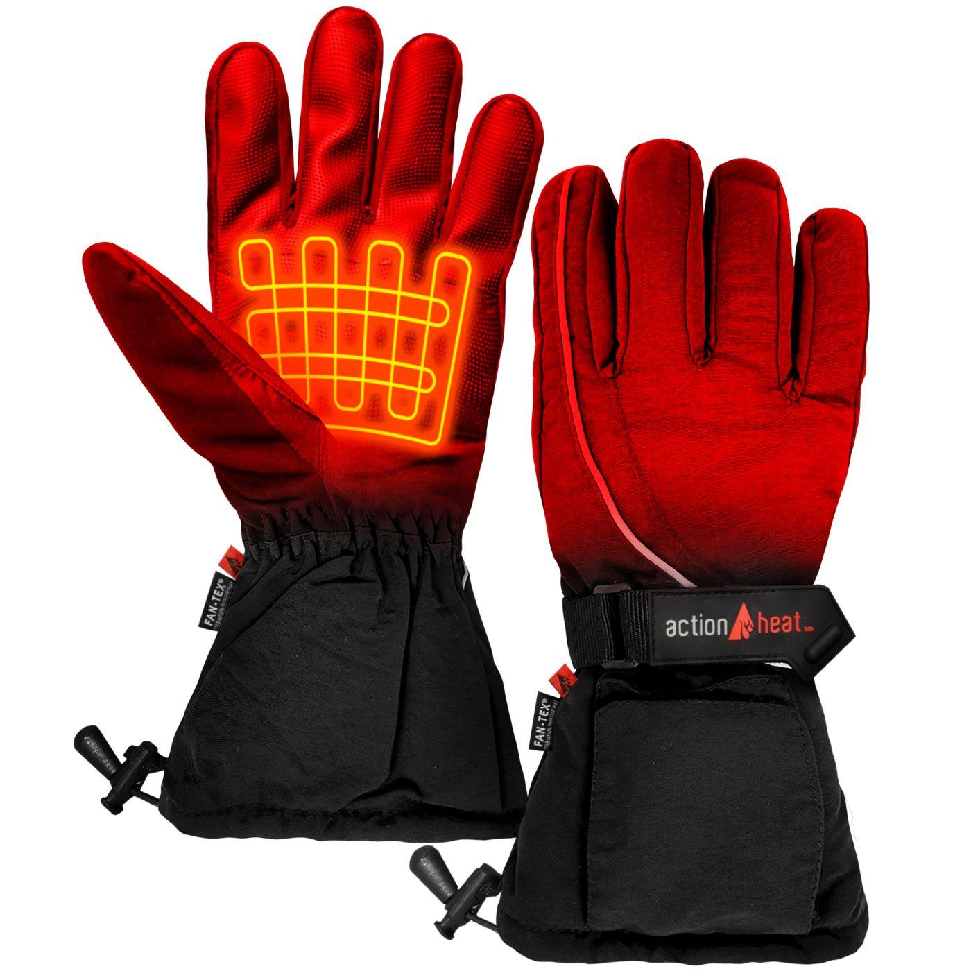 ActionHeat Men's AA Battery Heated Gloves