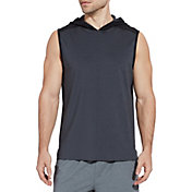 SECOND SKIN Men's Training Sleeveless Hoodie