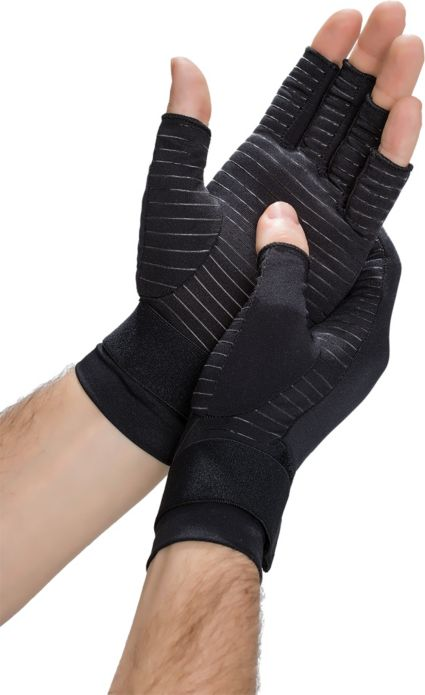 Copper Fit Hand Relief Compression Gloves