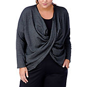 Rainbeau Curves Women's Plus Size Magnolia Twist Top