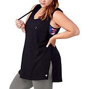 Rainbeau Curves Women's Plus Size Marina Hooded Tank Top