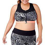 Rainbeau Curves Women's Plus Size Print Sports Bra