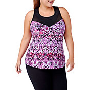 Rainbeau Curves Women's Plus Size Naina Tank	 Top