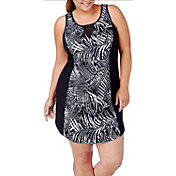 Rainbeau Curves Women's Plus Size Poppy Print Dress