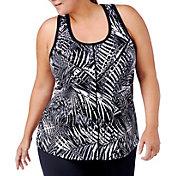 Rainbeau Curves Women's Plus Size Valencia Printed Tank Top