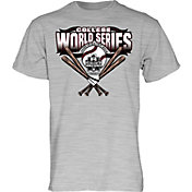 Blue 84 Men's 2018 College World Series Grey Logo T-Shirt