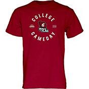 Blue 84 Men's Washington State Cougars Crimson ESPN College Gameday T-Shirt