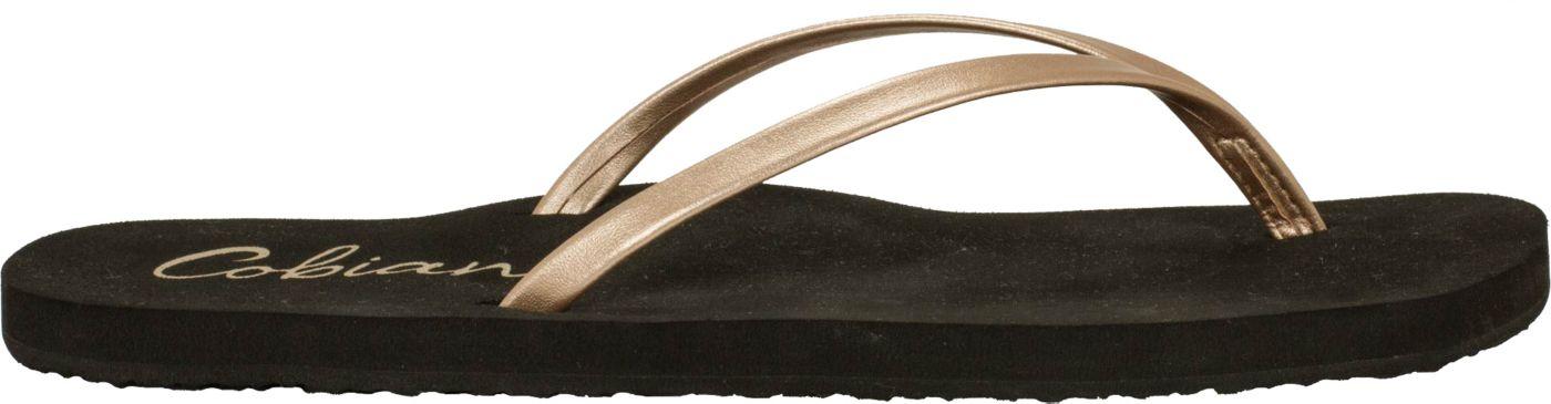 Cobian Women's Shimmer Flip Flops