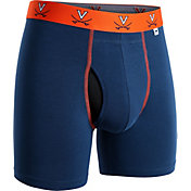 2UNDR Men's Virginia Cavaliers Blue Swing Boxer Briefs