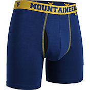 2UNDR Men's West Virginia Mountaineers Blue Swing Boxer Briefs