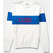 Hillflint Women's Chicago Cubs Retro Stripe Sweater