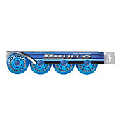 Bauer HI-LO Court 80MM Roller Hockey Wheels – 4 Pack