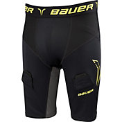 Bauer Youth Premium Compression Jock Hockey Shorts