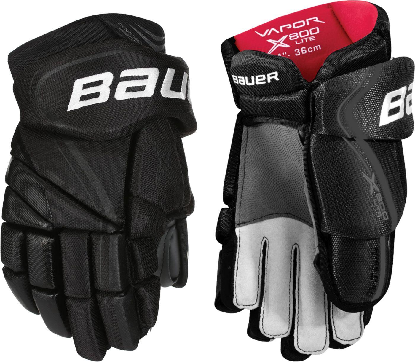 Bauer Junior Vapor X800 LITE Ice Hockey Gloves