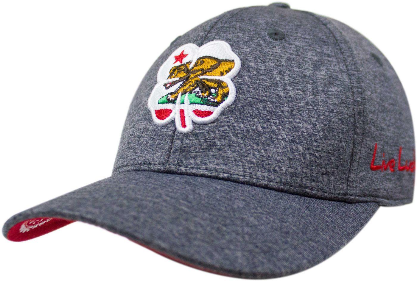 Black Clover Men's California Flag Heather Golf Hat