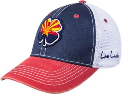 Black Clover Men's Arizona Flag Two-Tone Vintage Golf Hat