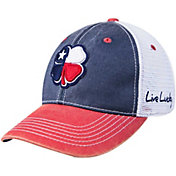 Black Clover Men's Texas Flag Two-Tone Vintage Golf Hat