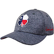 Black Clover Men's Texas Flag Heather Golf Hat