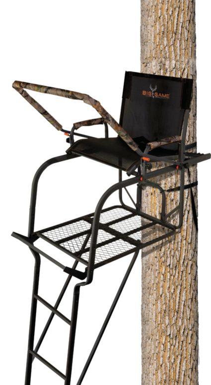big game treestands hunter hd 1 5 ladder stand dick 39 s sporting goods. Black Bedroom Furniture Sets. Home Design Ideas