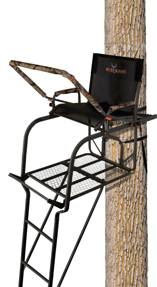 Big Game Treestands Hunter HD 1.5 Ladder Stand, steel thumbnail