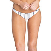 Billabong Women's Reversible Day Drift Twisted Lowrider Bikini Bottoms
