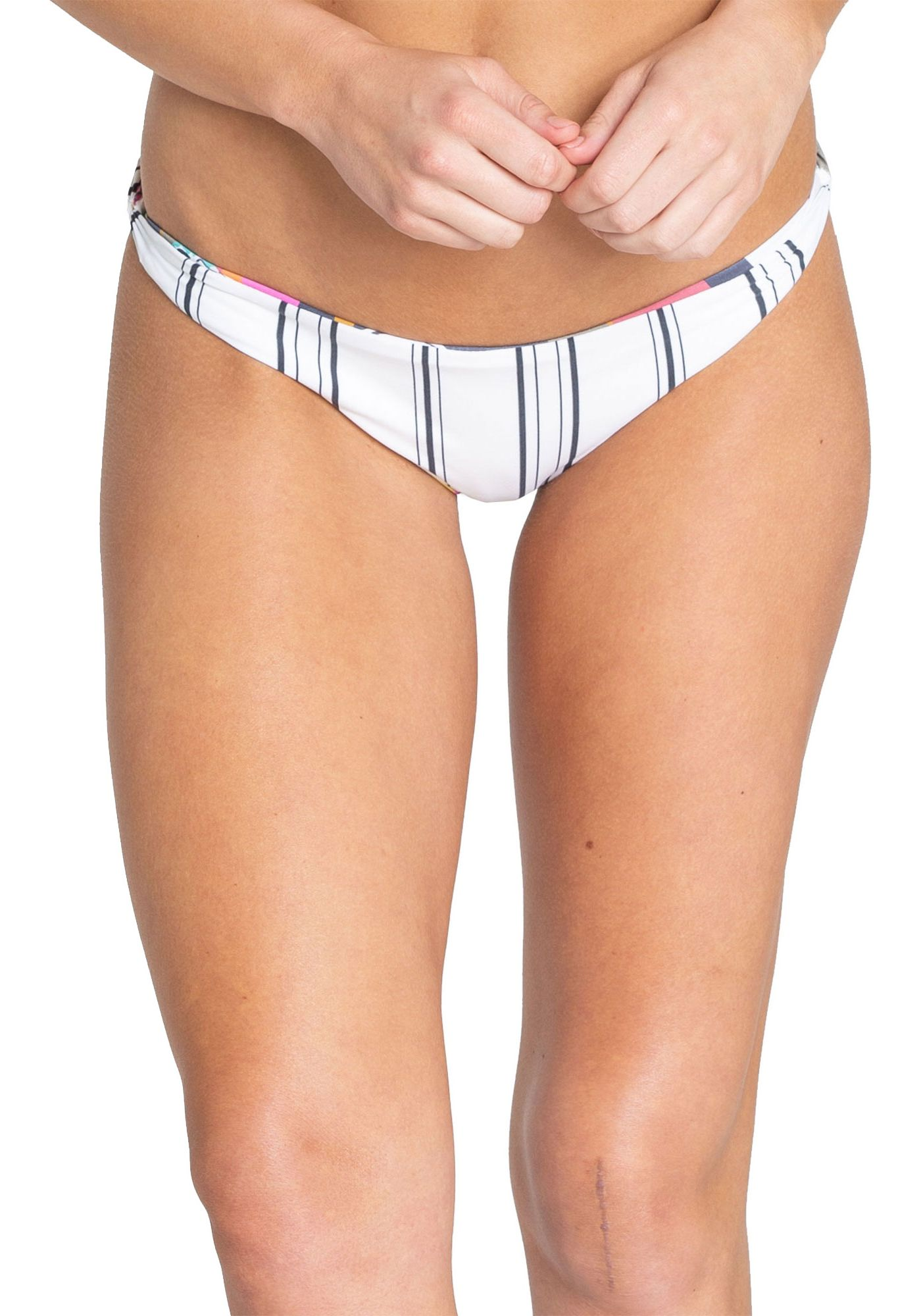 Billabong Women's Reversible Day Drift Twisted Lowrider Bikini Bottoms