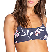 Billabong Women's Flow On By Mini Crop Bikini Top