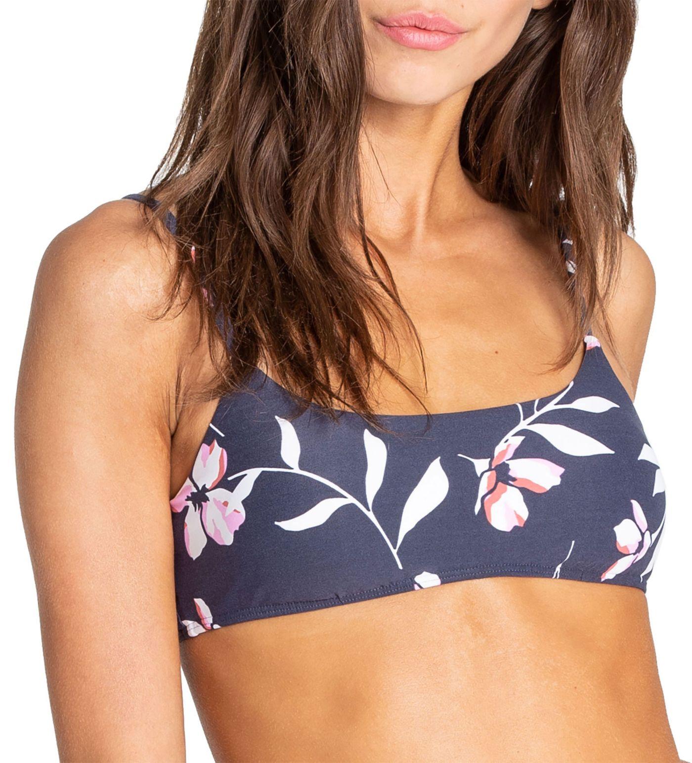 Billabong Women's Flow On By Mini Crop Bikini Top