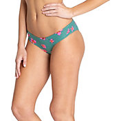 Billabong Women's Seain Green Hawaii Low Bikini Bottoms