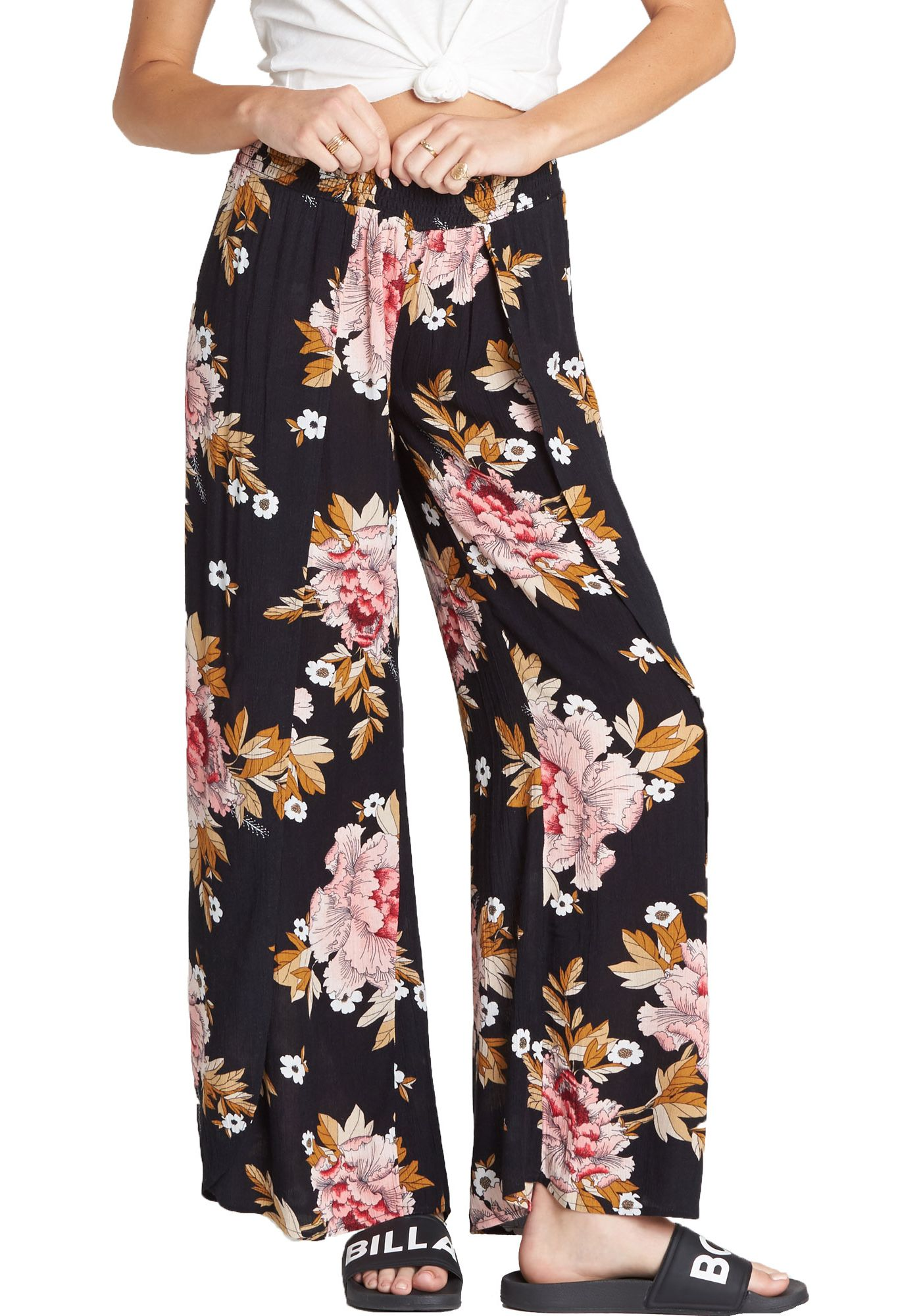 Billabong Women's Wandering Soul Wide-Leg Pants