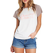 Billabong Women's Worn Soul Retro T-Shirt