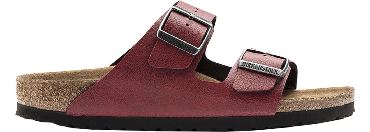 Birkenstock Women's Arizona Vegan Birko-Flor Pull Up Sandals