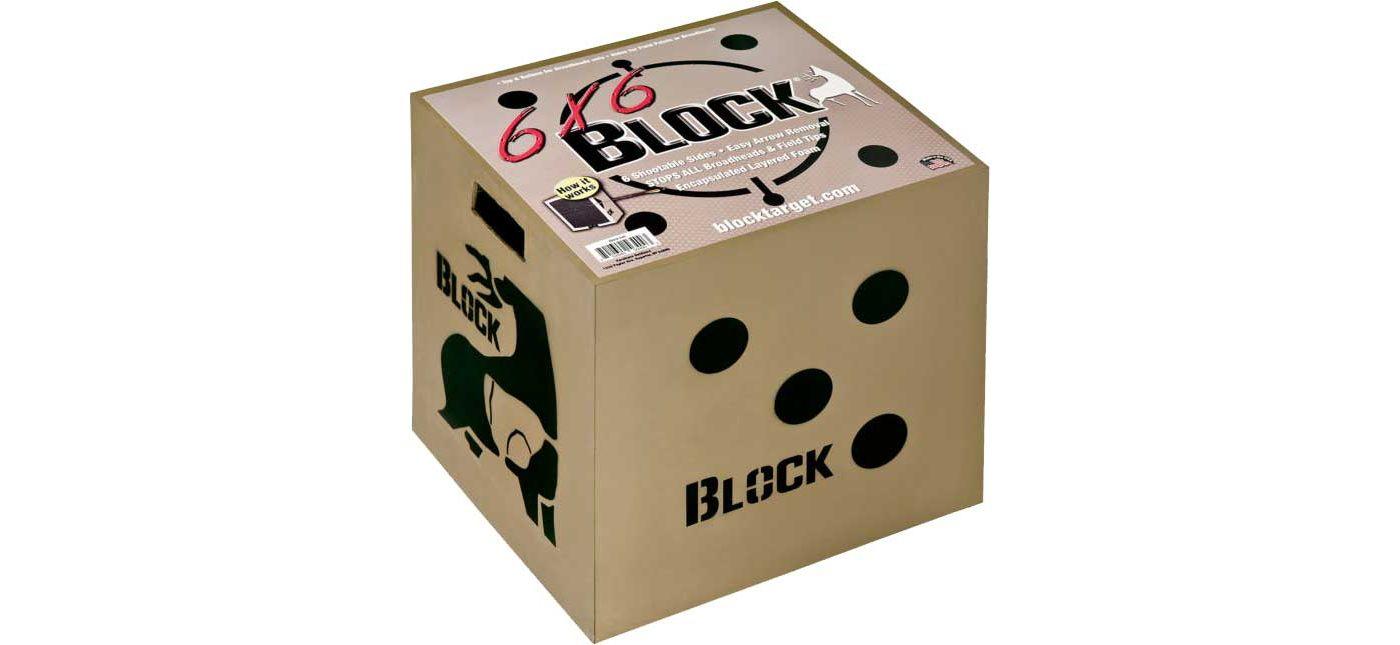 Block Targets 6x6 Archery Target