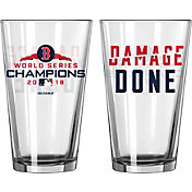 Boelter 2018 World Series Champions 'Damage Done' Boston Red Sox 16oz. Pint Glass
