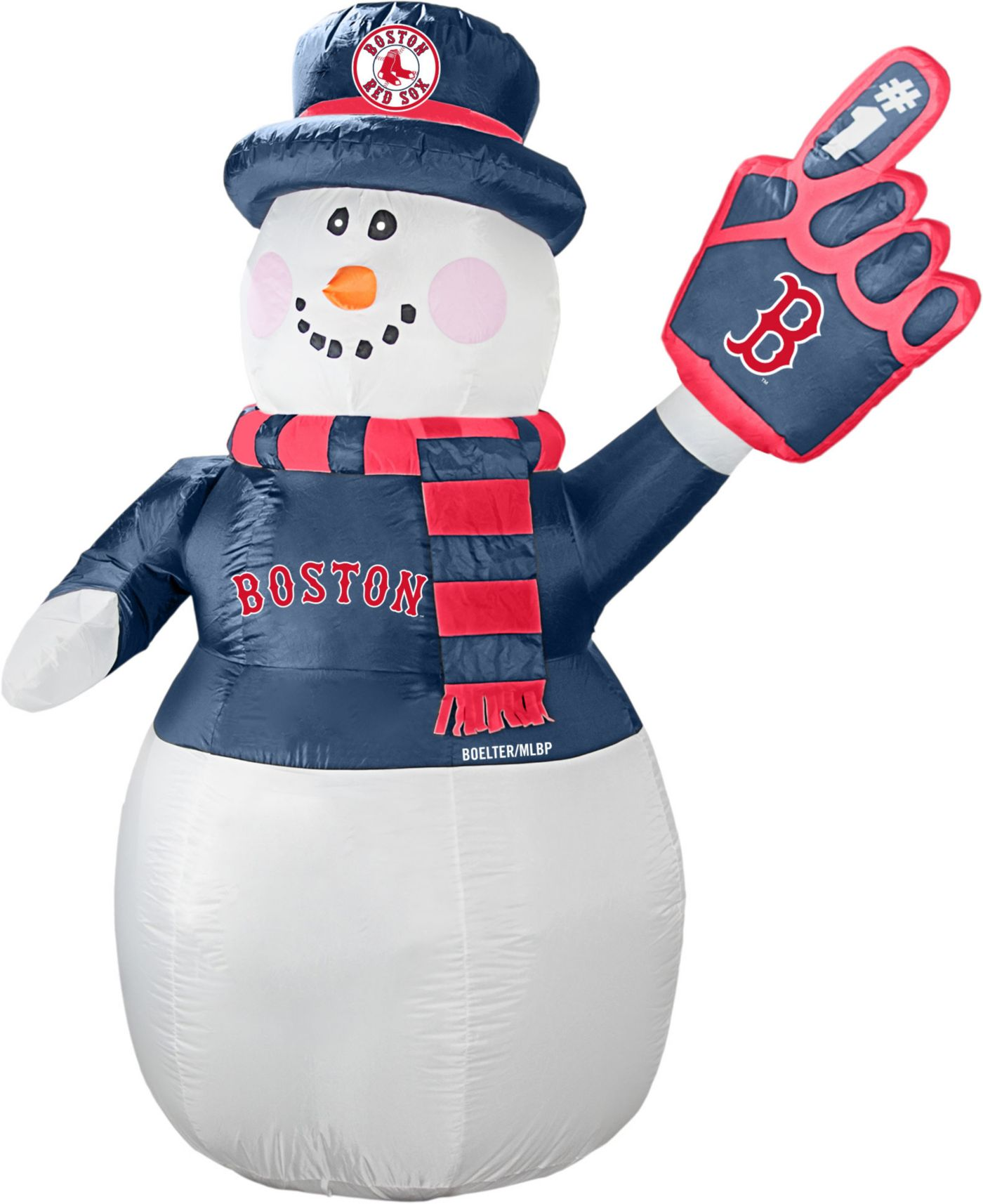 Boelter Boston Red Sox 7' Inflatable Snowman