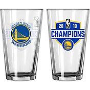 Boelter 2018 NBA Champions Golden State Warriors 16oz. Pint Glass