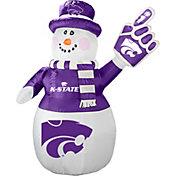 Boelter Kansas State Wildcats 7' Inflatable Snowman
