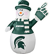 Boelter Michigan State Spartans 7' Inflatable Snowman