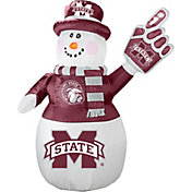 Boelter Mississippi State Bulldogs 7' Inflatable Snowman