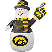Boelter Iowa Hawkeyes 7' Inflatable Snowman