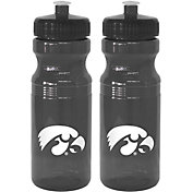 Boelter Iowa Hawkeyes 24oz Squeeze Water Bottle 2-Pack