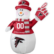 Boelter Atlanta Falcons 7' Inflatable Snowman