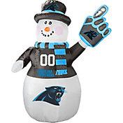 Boelter Carolina Panthers 7' Inflatable Snowman