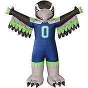 Boelter Seattle Seahawks 7' Inflatable Mascot
