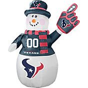 Boelter Houston Texans 7' Inflatable Snowman
