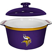 Boelter Minnesota Vikings Game Time 2.4qt Oven Ceramic Bowl